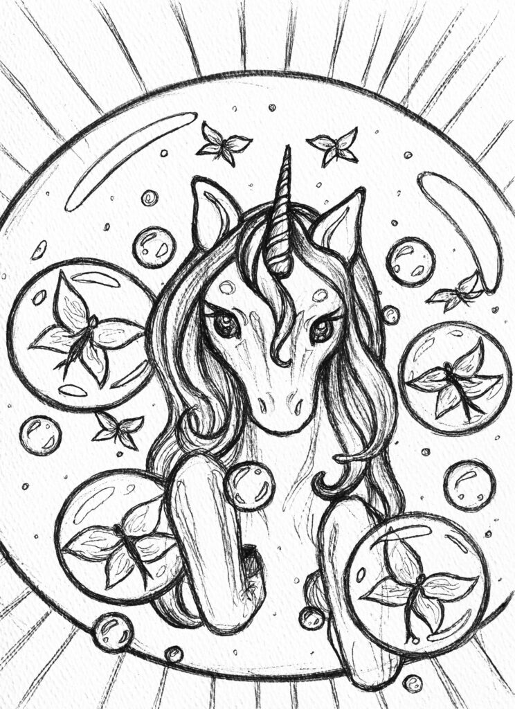 Episode 14 - Fairies and Dragons, Ponies and a Knight in Training - arwork by Sara Hopkings